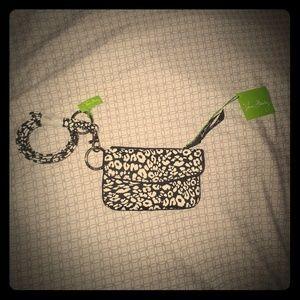 Vera Bradley small wallet with lanyard